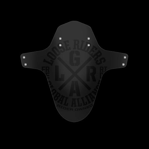 Loose Riders - Mudguard allicante black