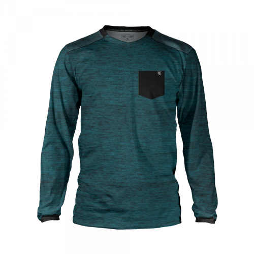 Loose Riders - Heather Teal Pocket Trickot