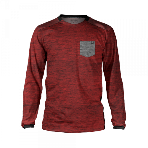 Loose Riders - Burgundy Pocket Trikot