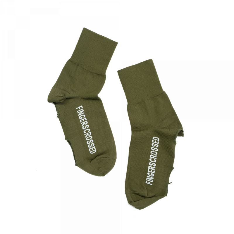 FINGERSCROSSED OVERSOCKS OLIVE