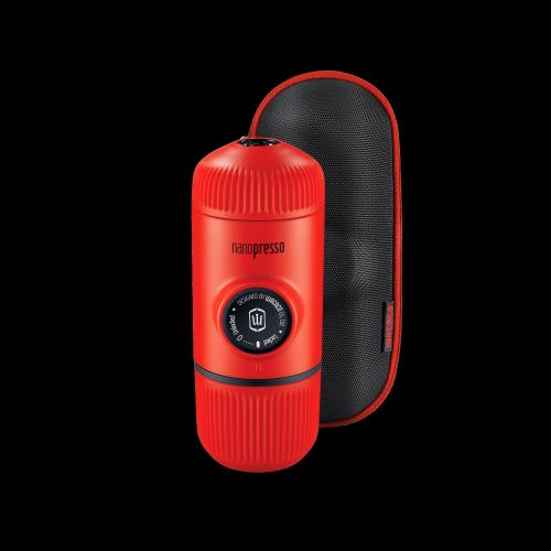 Wacaco - Nanopresso Lava Rot  - tragbare Espressomaschine für gemahlenen Kaffee