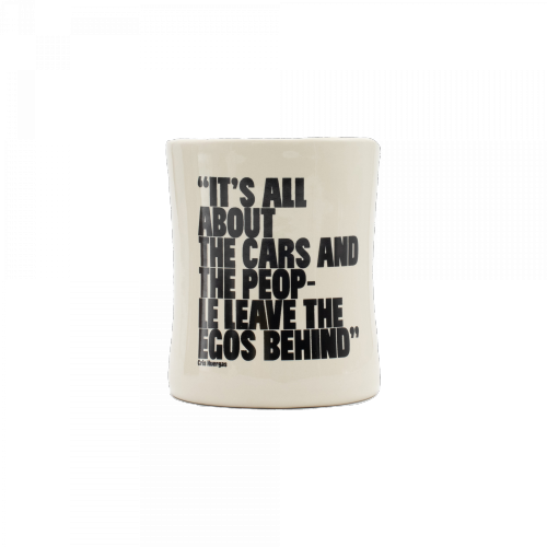 "RBook - Classic Coffee Mug 1 # ""It´s all about the Cars and the People"""