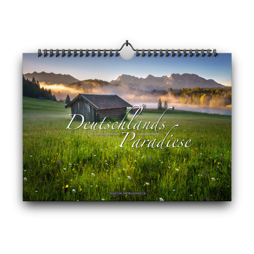 """MEINE JUNGS - Kalender 2021 """"Deutschlands Paradiese - DIN A3"""