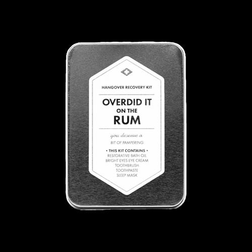 Men's Society - Hangover Kit - Overdid It On The Rum