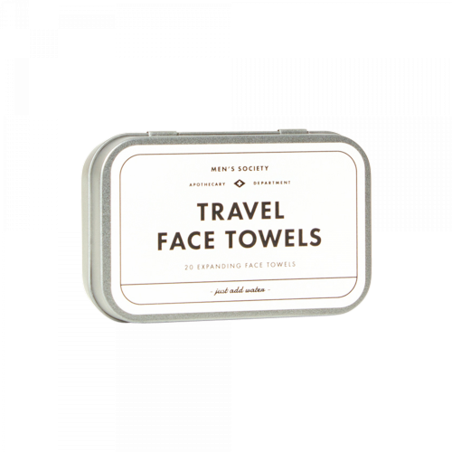 Men's Society - Travel Face Towels