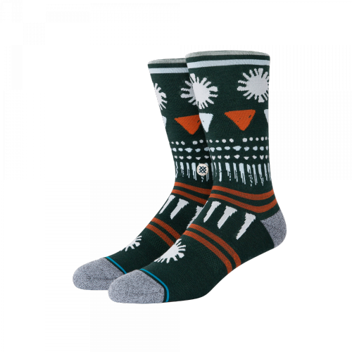 Stance Socks - Kirkja (grün / orange)