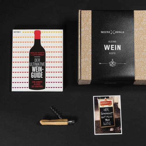 MEINE JUNGS - Kleine Weinkiste
