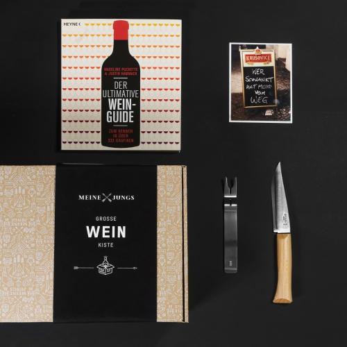 MEINE JUNGS - Große Weinkiste
