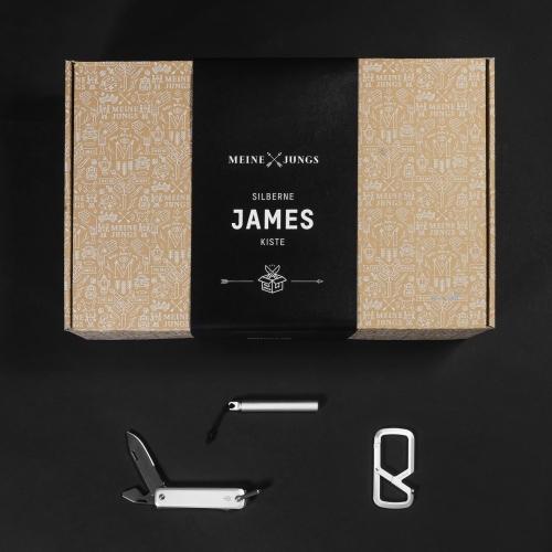 MEINE JUNGS - Silberne James – Kiste