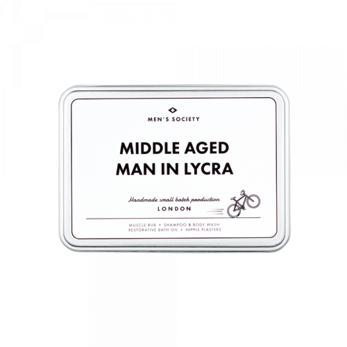 Men's Society - Middle Aged Man In Lycra