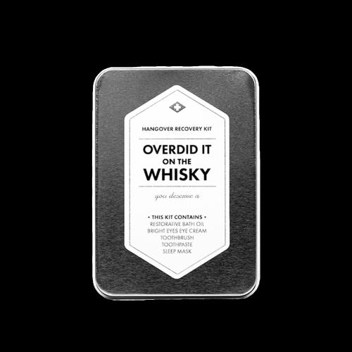 Men's Society - Hangover Kit - Overdid It On The Whisky