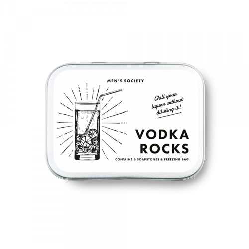 Men's Society - Vodka Rocks - Cooling Stones