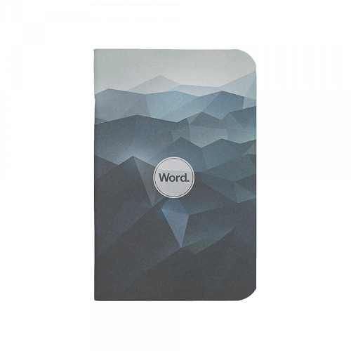 Word. Notebooks - Blue Mountain 3-Pack